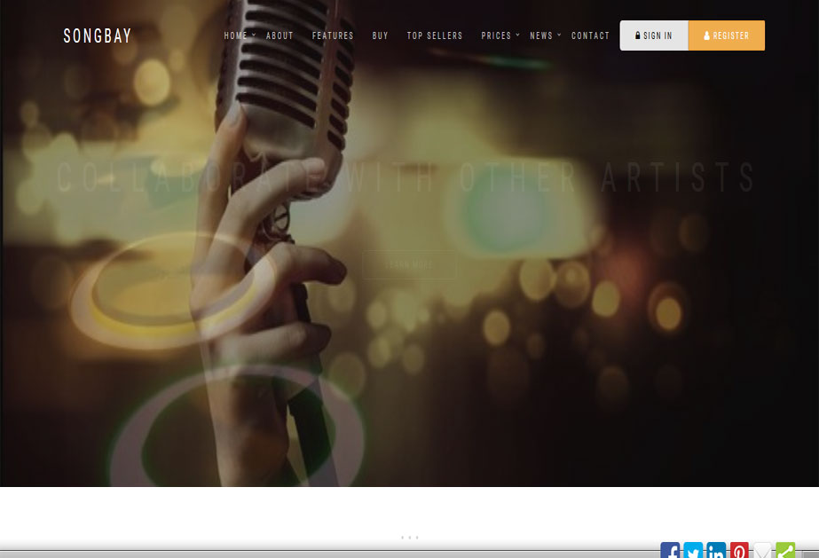 Songbay is a unique market place for trading original Music, Lyrics and Poems which is composed, performed and recorded by artists from around the world. <br />URL: http://songbay.co