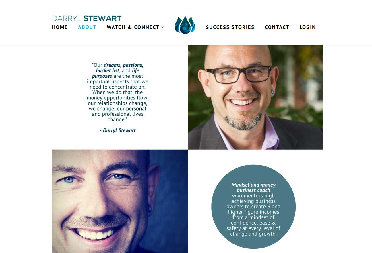 A wordpress website built over Divi Multipurpose Theme and the PMPro membership plugin with some customized PMPro stuff. <br/>URL: http://darrylstewart.ca/