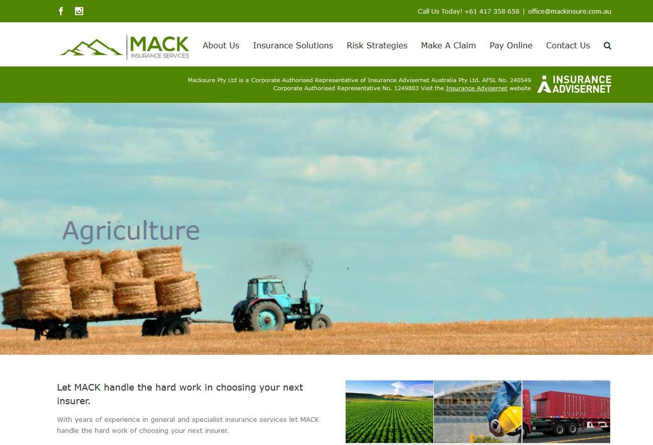MackInsure is wordpress website built over AVADA theme for an Insurance Company located in NSW, Australia.<br/>URL: http://mackinsure.com.au/