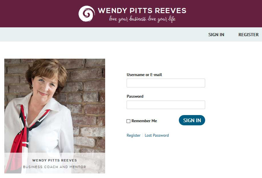 A wordpress website built over Customized Twenty Twelve Theme and the PMPro membership plugin with some customized PMPro stuff.<br/>URL: http://www.wendypittsreeves.com/login/