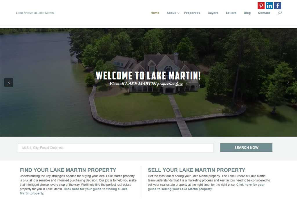 A wordpress website requested for revamp. We used the multipurpose theme, Divi as a base to customize the appearance. URL: http://lakebreezeatlakemartin.com/