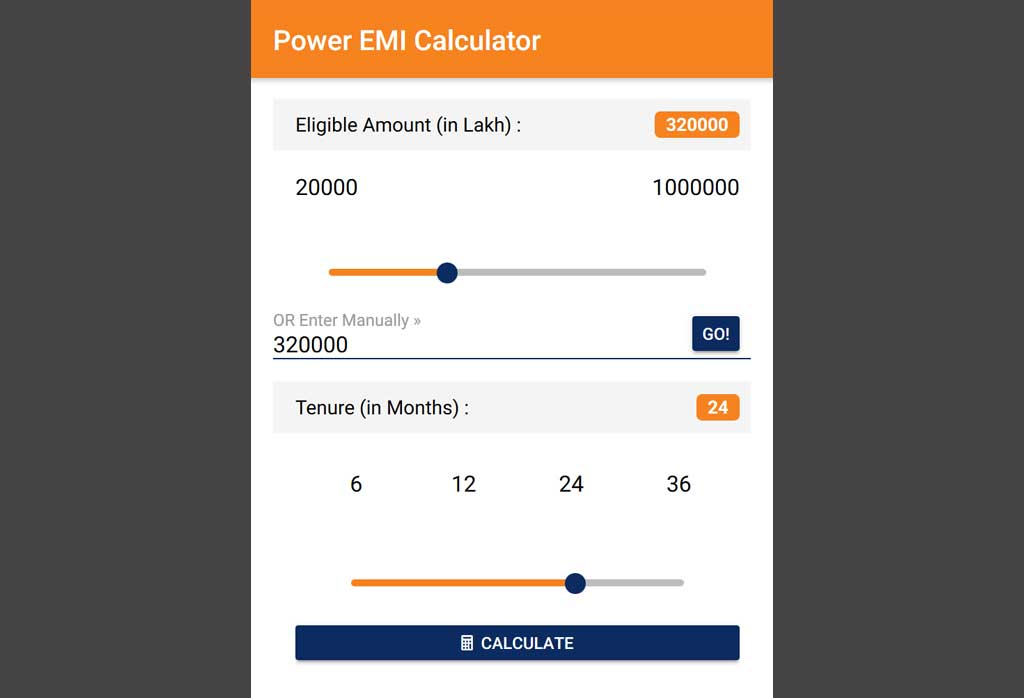 An application for ICICI Agent to calculate the Power EMI and it's built using Ionic framework.