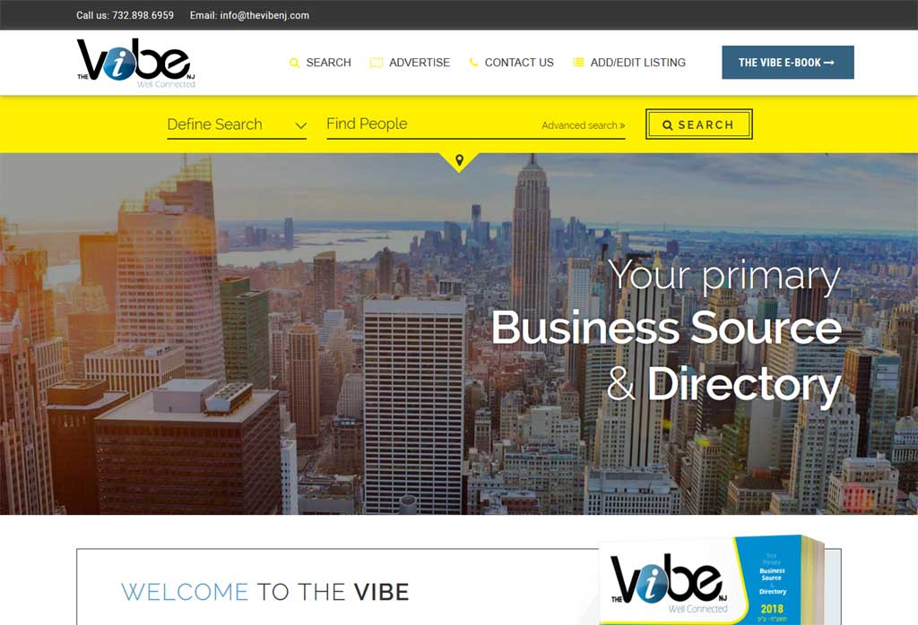 This is a business/community/resedential directory listing website. Main feature of the website is its smart search feature. We've tried to implement Full-Text search & Boolean search mechanism on the Quick Search feature of the website.<br/>URL: https://thevibenj.com/