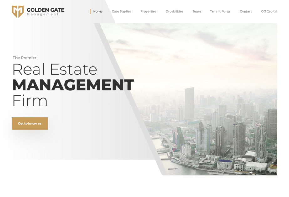 The website developed for a real estate company to showcase the projects managed by the company in their individual website.<br/>URL : https://106applenj.com/