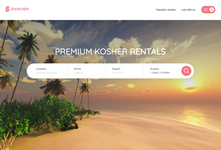 Vacation Rental Booking website built over CodeIgniter and integrated with Third-Party Booking engine - Guesty and a Stripe as a Payment Gateway.
